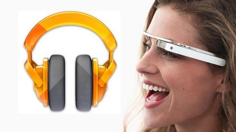 Google создала приложение Play Music для очков Glass