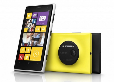 Nokia анонсировала новую Lumia 1020 с камерой на 41-мегапиксель
