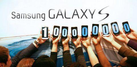 Samsung продала сотню миллионов смартфонов Galaxy S