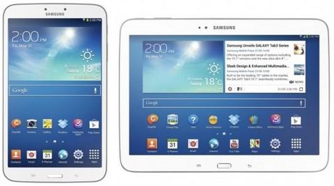 Samsung представила сразу два планшета на Android