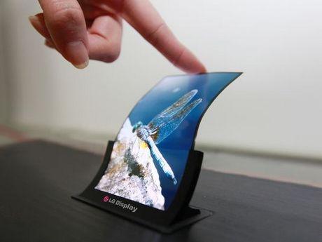 LG готовит к выпуску гибкий дисплей для смартфонов