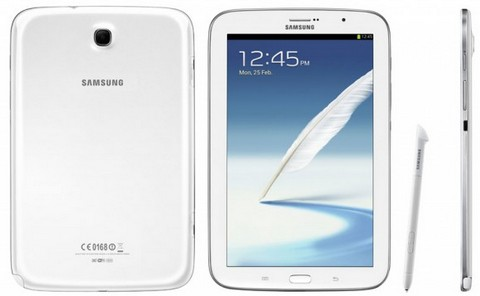 Samsung показала планшет Galaxy Note 8.0