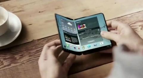 Смартфоны Samsung получат «складные» экраны