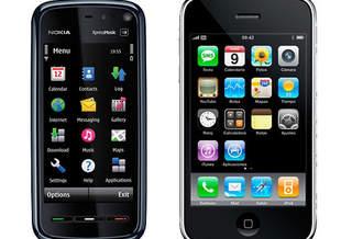 20 причин, почему iPhone 3G хуже Nokia 5800 XpressMusic