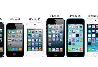 Эволюция телефонов iPhone