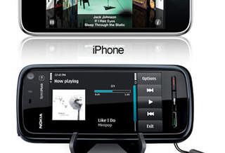 Nokia 5800 Xpress music Tube VS Apple iPhone 3G