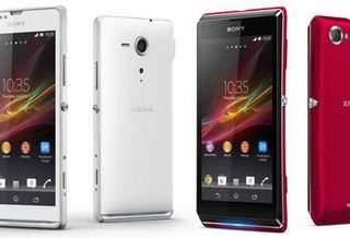Sony анонсировала новые смартфоны
