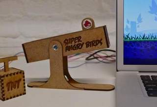 Копенгагенские студенты создали контроллер для Angry Birds