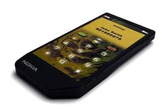 Nokia задумала телефон с сенсорным экраном на основе воды
