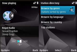 Программы для Symbian ^3, Anna, Belle: GrabRadio - v.1.00 (0)