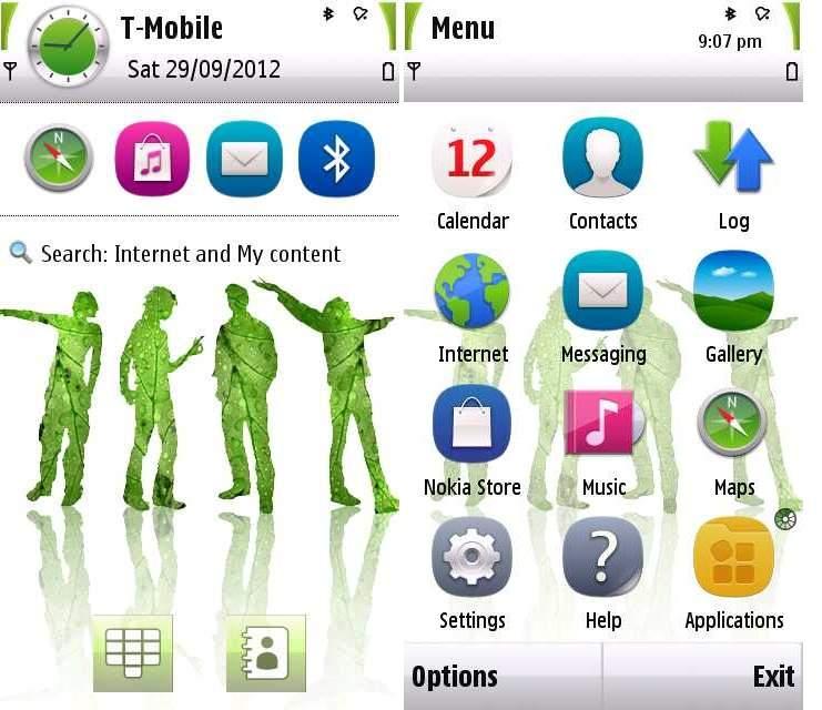 Оболочка для Nokia 5228